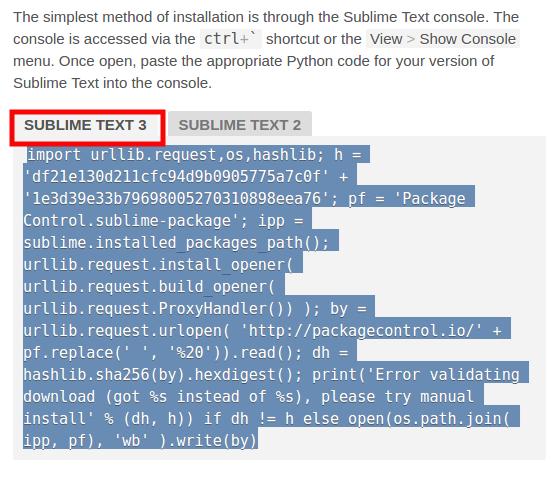 آموزش نصب افزونه Emmet در sublime text