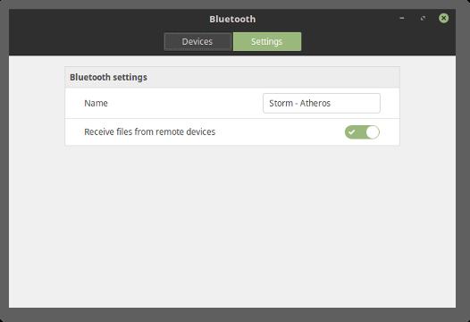 تغییر رابط کاربری بلوتوث در لینوکس مینت