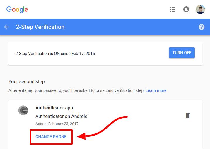 چگونه Google Authenticator را به گوشی دیگر منتقل کنیم؟
