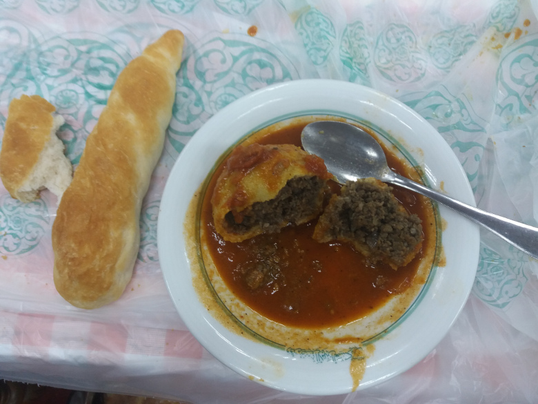تجربه سفر به عراق با غذای تند