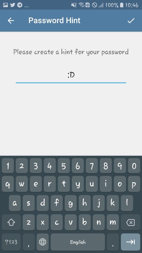 فعال کردن تایید دو مرحلهای در تلگرام