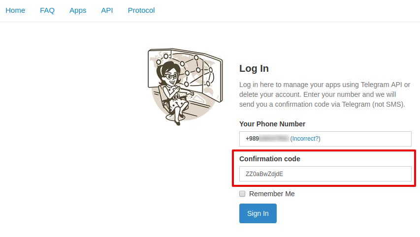 آموزش حذف اکانت تلگرام و نحوه delete account telegram