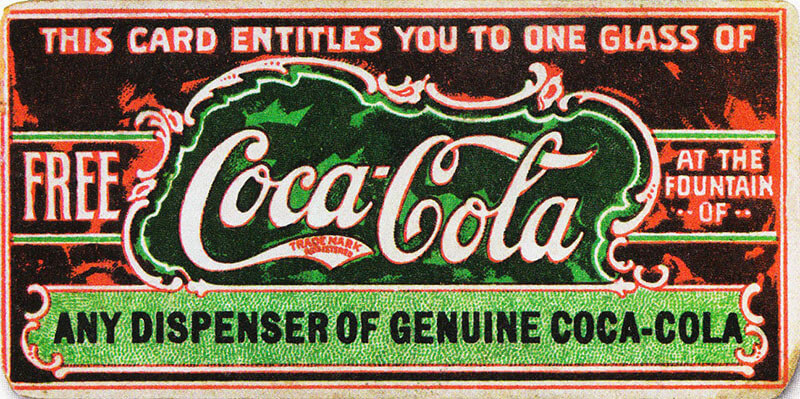 اولین کوپن تخفیف کوکاکولا